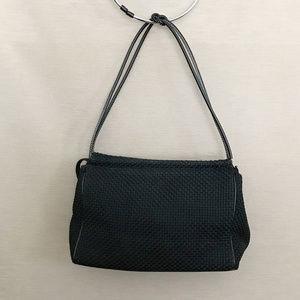 The Sak Black Fabric Shoulder Bag